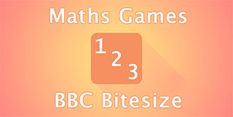 Go to the 'BBC Bitesize Maths Games' website
