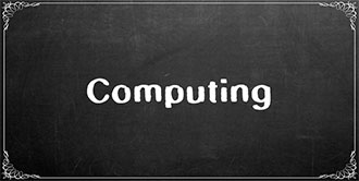Go to the 'Computing' subject page