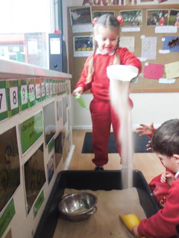 Learning in Nursery Class Sessions 4