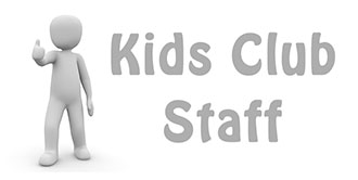 Go to our 'Kids Club Staff' page