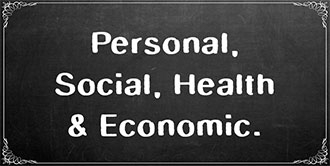 Go to the 'Personal, Social, Health and Economic' subject page