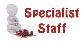 Go to our 'Specialist Staff' page