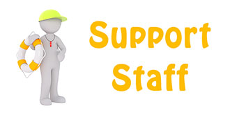 Go to our 'Support Staff' page