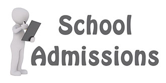 Go to the 'School Admissions' page
