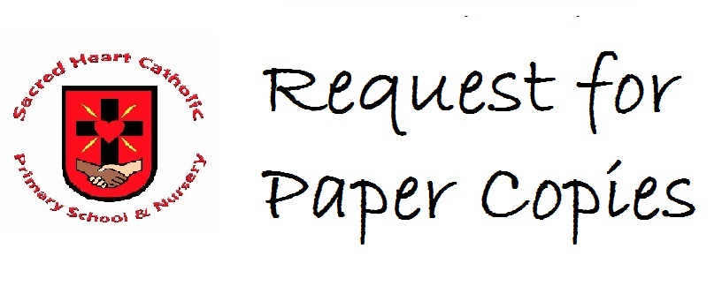 Go to the 'Request for paper copies 2 Page