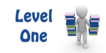 Go to the 'Level 1 English Quiz'