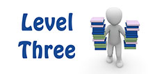 Go to the 'Level 3 English Quiz'