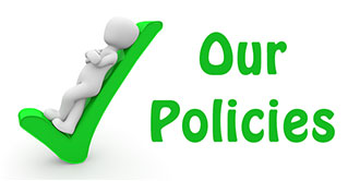 Go to 'Our policies Page'